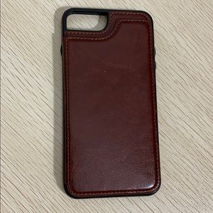 iPhone 7/8 Plus card holder phone case